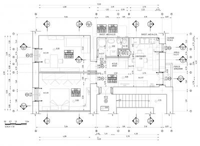 Pianta Architettonica Tecnologica